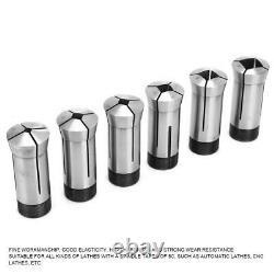Collet Set 6pcs 5C Collet Set For CNC Lathe Milling Tool