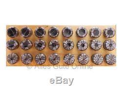 EOC25B / OZ25B Collets 462E DIN6388B, 24 pcs in Set HL #348