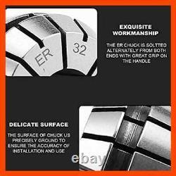 ER32 25 PCS Collet Set 1/16 3/4 Precision Spring Collets Chuck For Workholding
