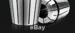 ER32 Collet Set For CNC Milling Lathe Tool Engraving Machine 25Pcs