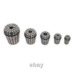ER32 High Precision Master Collets Set 25Pcs Pin Set Flexibility Plasticity