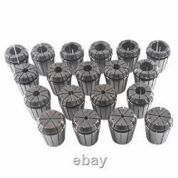 ER32 Spring Collet Set CNC Milling Lathe Engraving Tool 20PCS set 1-20mm