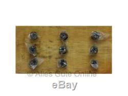ER8 Collets 4004E DIN6499B, 9 pcs in Set HL #342