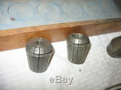 ETM ER40 Collet Set 15Pcs. With Case ISO50