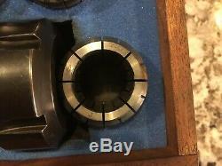 ETM ER40 With Morse Taper No. 5 COLLET CHUCK TOOL SET 15PCs 5MT ER 40x3.25