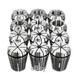 Er32 Inch Milling Cutter Chuck 12Pcs/Set Precision Imperial Er32 Collet 1/8 F3S6