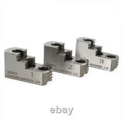 Hard Lathe Chuck Jaw Set 20CrMnTi 10'' 3pcs fit for CNC Kitagawa B-210 HOT SALE