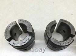 Jones & Lamson Collet Brown & Shape Turret Lathe 12 Sets 3 Pcs 10482 Model J & L