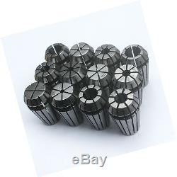 KIPA 12PCS ER16 Spring Collet Set For CNC Milling Lathe Tool Engraving Tool H