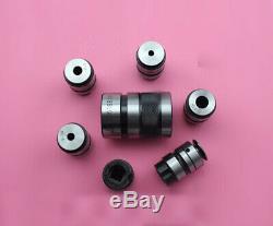 L0516B18-6Pcs (ISO M5-M16) Set B18 Taper Mounted Quick Change Tap Collet Chuck