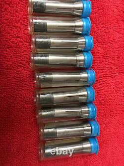 Levin Watchmaker Lathe NEW UNUSED 20 pcs D 10 mm collet set 0412-03 1/64 5/16