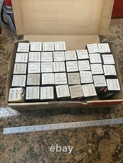 MHC 5C Round Collet Set 35pcs 1/16-1-1/8 x 32nds + 1 Xtra Enco Serviceable N425