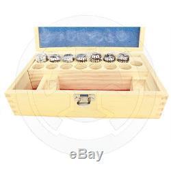 Metaltech Tools, Collet Set, ER25, 7 pcs, Metric, 4 to 16 mm, Standard, 410-9320