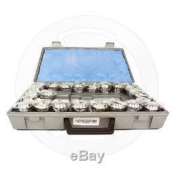 Metaltech Tools, Collet Set ER40, 23 pcs Imperial 1/8 to 1, Standard, 410-9550