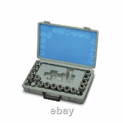 Metaltech Tools, Collet Set OZ25, 15 pcs inches 1/8 to 1in, 411-6050