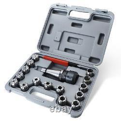 Milling Cutter Collet Chuck Holder 17-piece NT40-ER32 CNC 10pcs/Set Chucks Tool