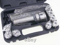 Morse Taper Collet 8Pcs & Chuck Spanner Set MT4 Lathe Milling Tools