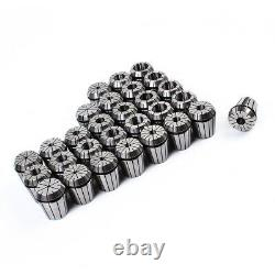 New ER40 (29Pcs) Collet Set Metric Size High Precision Spring Clamping Collet US