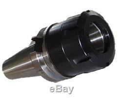 New Milling Collet ER40 Adaptor BT40 Size 5 To 25 mm 12 pcs Set Adaptor Spanner