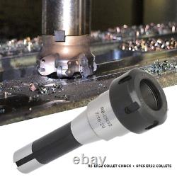 R8 ER32 Collet Chuck Set Morse Taper Holder + 6pcs ER32 Spring Collets CNC Tools