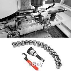 R8-ER40 Collet Set R8 Shank Collet Chuck +15Pcs Collets For Drilling Machines