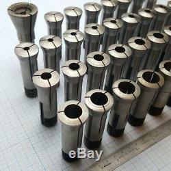 SCHAUBLIN W-20 W20 Collet Set 2 (35 pcs) 2.5-20mm for Schaublin 102 Aciera