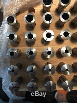 SCHAUBLIN W-20 W20 Collet Set (40 pcs) 0.5-20mm for Schaublin, Aciera Lathe