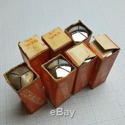 SCHAUBLIN W-25 W25 Collet Set 1 (7 pcs) 0.5-5.5mm for Schaublin, Aciera Lathe