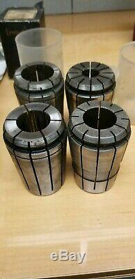 TG150 Collet SET/ LOT, 16 of 20 pcs are NEW, CENTAUR, LYNDEX, 1/2 TO 1.5 150TG
