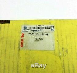 Toolmex 8-703-1197 TG75 Collet Set, 43 Pcs, Brand New