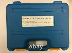 USED - 12 Pcs/Set ER32 Collet + R8 Bridgeport Shank + Wrench in Fitted Box