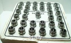 Universal Engineering 3/4 series Acura-Flex Collet Set 9400045 1/4-3/4 33pcs