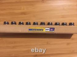 Used ETM 10pcs ER16.79mm 9.53mm Collet Set
