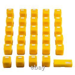 VEVOR Collet Set Collet Chuck 29PCs ER40 Workholding Collets 1/8-1 for Milling