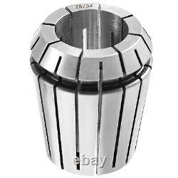 VEVOR Precision ER32 Collet Set 45PCs Collet Chuck 2-20 mm 1/16-25/32 for CNC