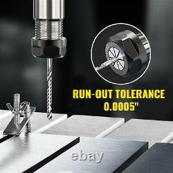 VEVOR Precision ER40 Collet Set 29PCs Collet Chuck 1/8-1 for CNC Milling Lathe